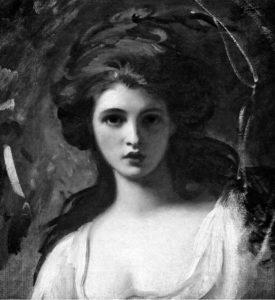 Ritratto di Emma Lyon, opera di George Rommy.