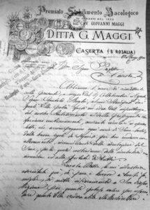 Marzo 1900 - uno stabilimento biologico si propone per la vendita delle incubatrici.