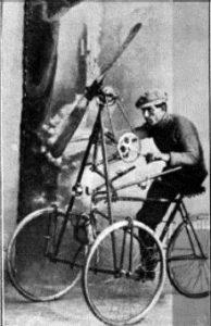 Enrico Toti inventore.