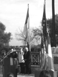 """L'intervento del Generale McPhee presso la """"Campana della Pace"""""""