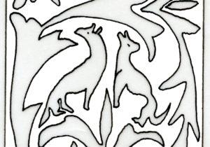 Fig. 5: Coppia di lupi.
