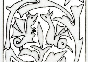 Fig. 8: Coppia di draghi.