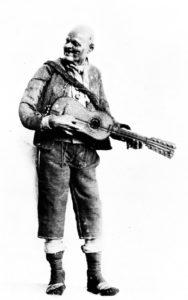 Giuseppe Gori: suonatore di chitarra