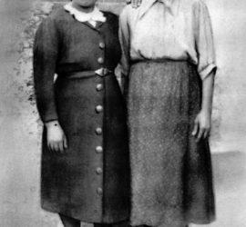 Benedetta Pacitto con la figlia Rocca Di Cicco.