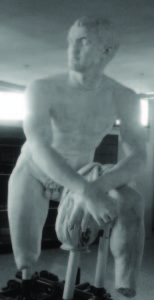 Foto 1 - La statua dell'«eroe o atleta di Cassino».