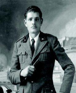 Foto di un soldato italiano