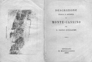 Paolo Guillame, Descrizione storica e artistica di Montecassino.