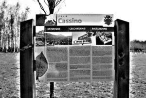 Pannello dedicato a Cassino.