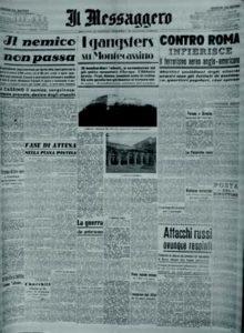 «Il Messaggero», a. 66, n. 40, mercoledì 16 febbraio 1944/XXII.