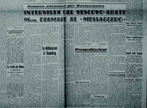 «Il Messaggero», a. 66, n. 43, sabato 19 febbraio 1944-XII.