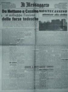 «Il Messaggero», a. 66, n. 44, domenica 20 febbraio 1944-XXII