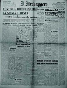 «Il Messaggero», a. 66, n. 45, martedì 22 febbraio 1944-XXII.