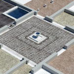 Fig. 3: Ricostruzione degli ambienti A24 e A28 (ricostruzione 3D: Ivan Ferrari).