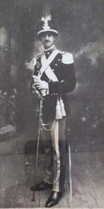Olindo Bartolomucci in divisa da ufficiale; per gentile concessione di Daniele Bartolomucci.