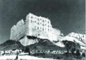 I resti dell'Abbazia.