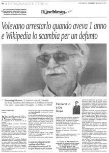 Fernando De Rosa L'Inchiesta