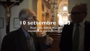 Prof. Manlio Del Foco 10 settembre 2017