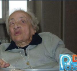 Immacolata Bianchi in una rara foto del 2010