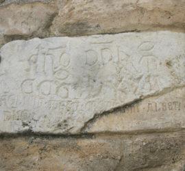 Iscrizione ex castello.