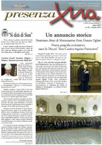 «PresenzaXna»n. 10 dell'ottobre 2014.