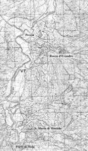Fig. 5: L'alto corso del Garigliano in territorio di Rocca d'Evandro.