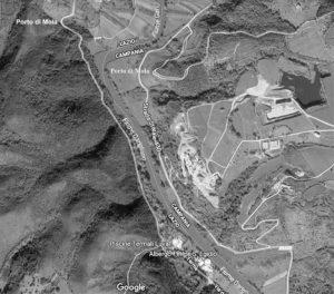 Fig. 6: Il Garigliano tra il porto di Mortola e le acque vescine.