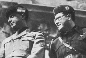 Aurelio Vitto (a destra) con il ministro dell'Educazione nazionale