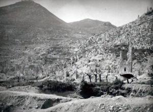 Cassino: la torre campanaria