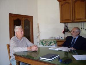 Antony Tony Vittiglio il primo giugno 2015 a Pignataro.