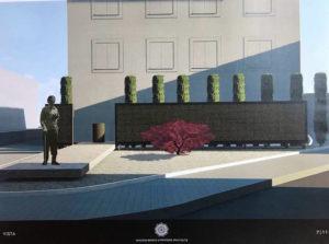 FOTO 1-2: «Giacomo Bianchi & Partners Architects»:vista e vista prospettica.