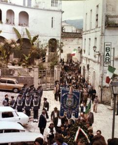 Sant'Elia Fiumerapido marzo 1978. Cerimonia di commemorazione di Vincenzo