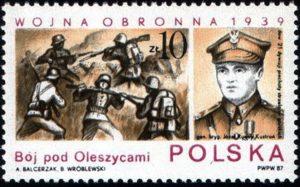 Fig. 1: Un esemplare emesso nel 1987.2014 nell'anniversario dell'invasione della Polonia.