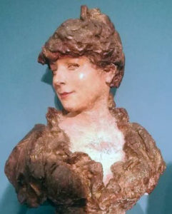 Alexandre Falguière, Busto di Juana Romani (1884).
