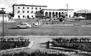 La piazza Garibaldi com'era all'inizio.