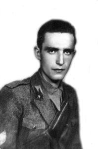 Il sottotenente Vittorio Arciero.