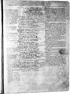 Codice Cassinese della Divina Commedia: Inferno, canto I