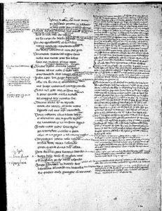 Codice Cassinese della Divina Commedia: Paradiso, canto I