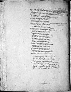 Codice Cassinese della Divina Commedia: Inferno, canto XXXIV
