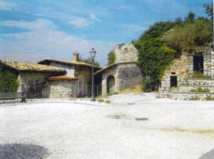 Il rione «l'Olivastro» in una recente foto.