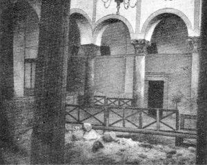 Interno della Chiesa agli inizi del '900.