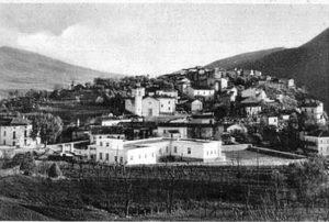 Sant'Andrea del Garigliano in una vecchia immagine.