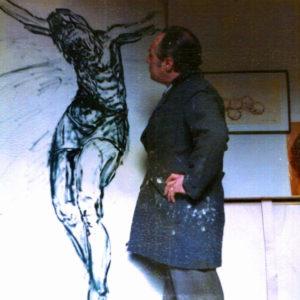 Vittorio Miele e Il Cristo.