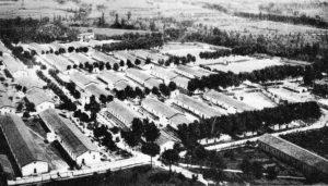 Il Campo di concentramento di Cassino-Caira subito dopo la riconversione in Scuola allievi ufficiali Carabinieri Reali.