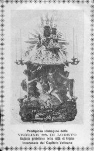 Foto 3: Arpino, antica immagine della Madonna di Loreto.