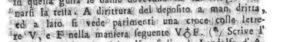 """Fig. 2: Apografo del """"monogramma"""" (da Cayro 1811, p. 26)."""