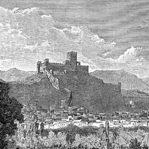 La Rocca e San Germano in epoca più recente.