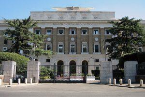 Palazzo dell'Aviazione a Roma.