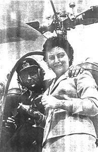 Secondino Pagano con la moglie, signora Lidia.