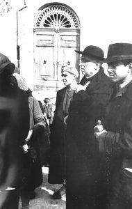 D. Francesco Falconio e altri sopravvissuti a Roccasecca.