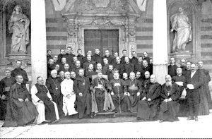17 ottobre 1909: benedizione abbaziale di Gregorio Diamare.